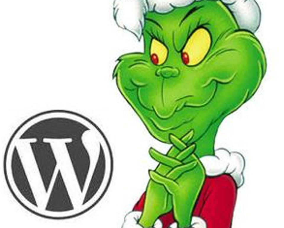 WordPress-Grinch